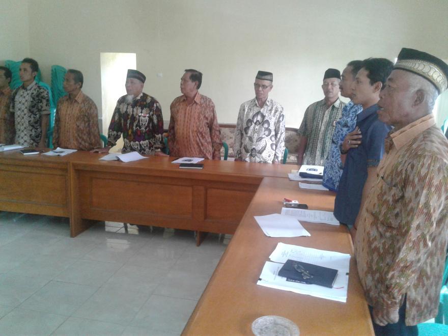 Image : Perubahan Anggaran Pendapatan dan Belanja Desa Dukun Tahun 2016 Sudah Diketok BPD..