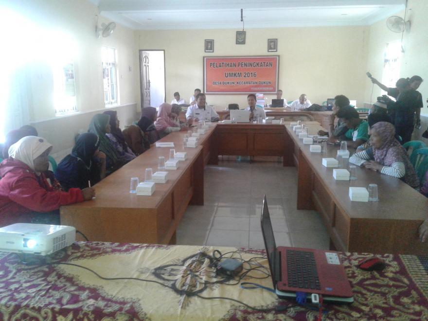 Image : Pembinaan UMKM Desa Dukun dan Pembentukan Paguyuban UMKM Desa Dukun