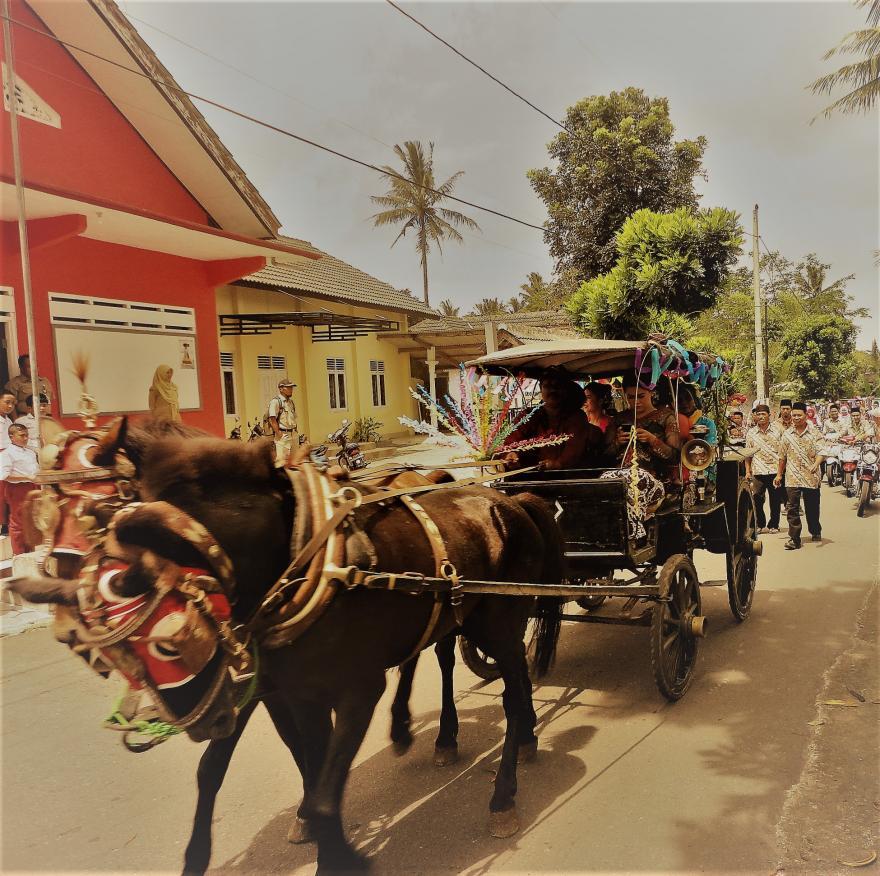 Image : Pernikahan Dengan Cara Tradisional di Desa Dukun
