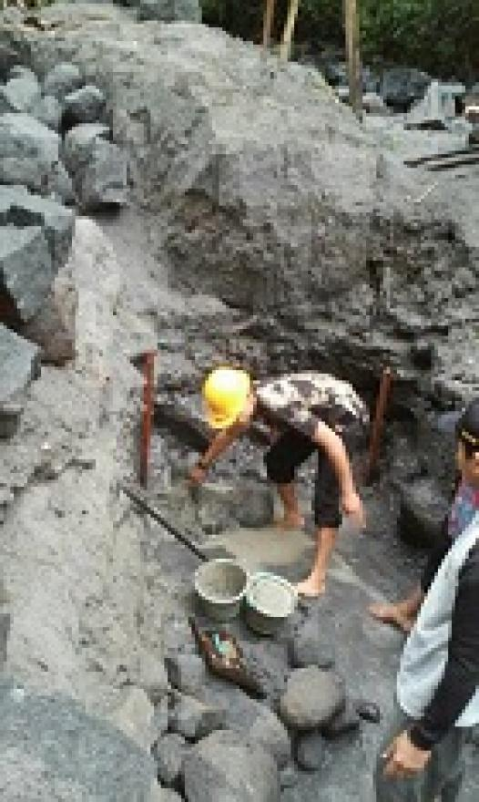 Image : PEMBANGUNAN JEMBATAN PENGHUBUNG DESA DUKUN DAN DESA WATES