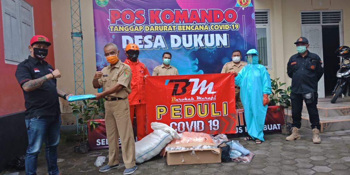 Image : Bantuan APD dari CV Barokah Merapi Untuk Satgas Penanggulangan Bencana Covid 19 Desa Dukun